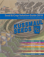 Kussmaul Seeds 2018 Product Guide