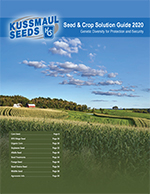 Kussmaul Seeds 2020 Product Catalog
